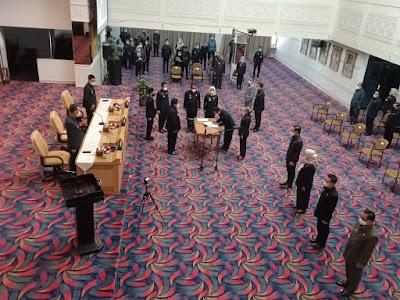 Gubernur Arinal Lantik Delapan Pejapat Tinggi Pratama