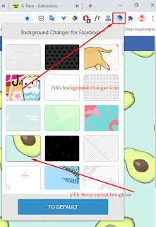 Cara Ganti Background Facebook di komputer