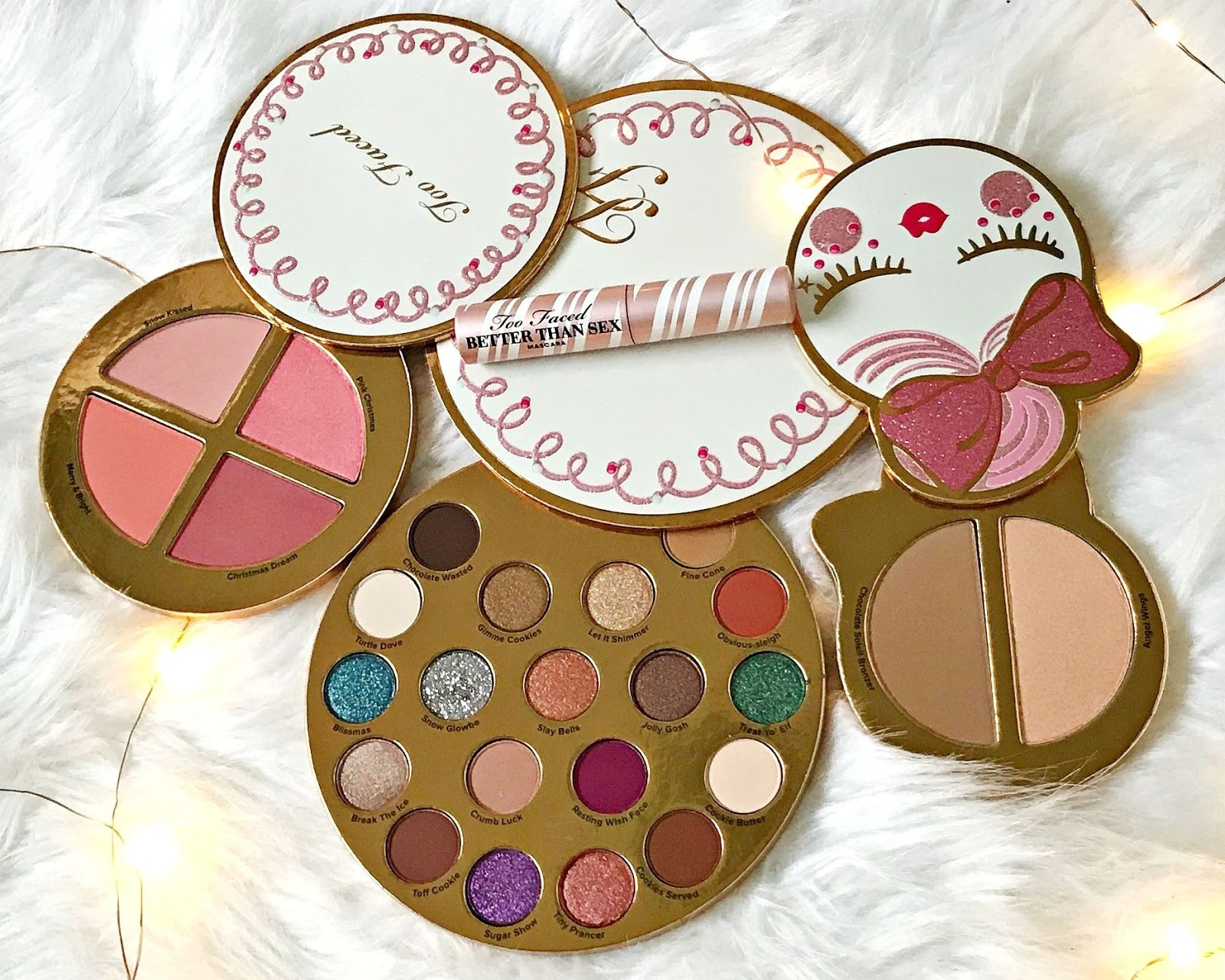 Too Faced Let It Snow Girl Review & Swatches