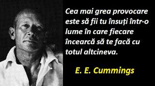 Maxima zilei: 14 octombrie - E. E. Cummings