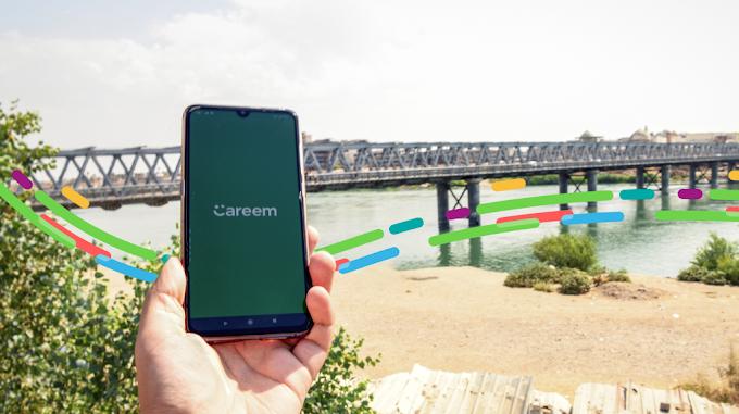 Careem توفر خدماتها في الجانب الأيمن من الموصل