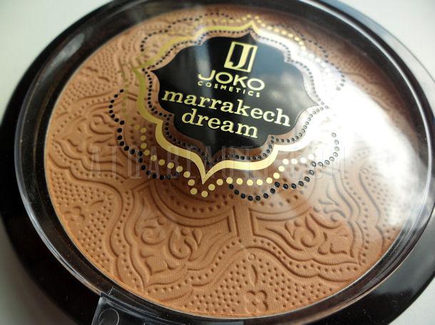 Makijaż :: Brązujący ideał, czyli puder Joko Marrakech Dream