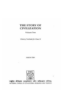 THE STORY OF CIVILIZATION VOLUME 2 BY NCERT