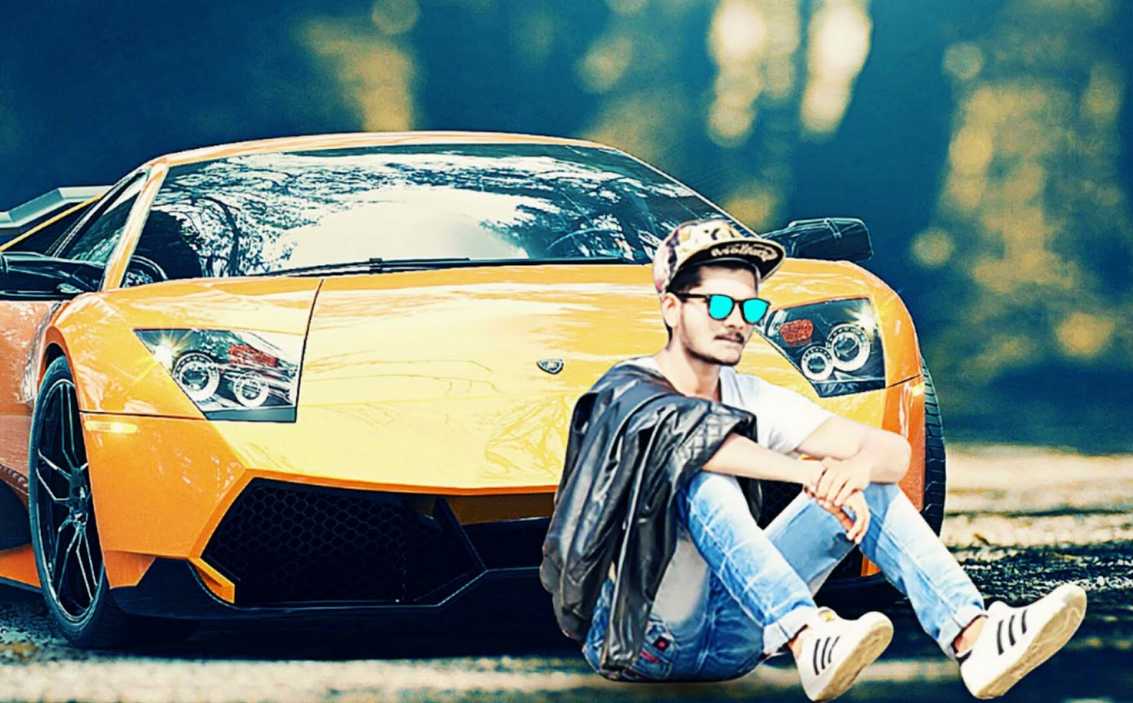 Lamborghini Picsart Background Change By Vaxdan Vaxdan