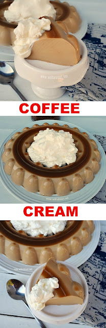 Melt-in-the-mouth, silky smooth Coffee Cream is the perfect Summer dessert