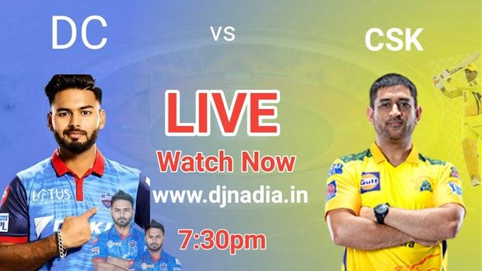 Watch live vivo IPL 2021 CSK vs DC Free, today ipl 2021 match rcb vs mi live match watch now