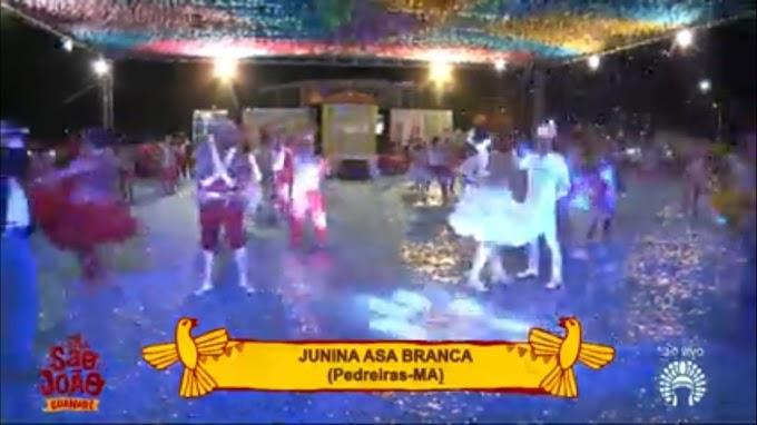 Junina Asa Branca arrasa e representa bem Pedreiras no Arraial de Caxias.......