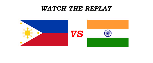List of Replay Videos Philippines vs India 38th Jones Cup 2016