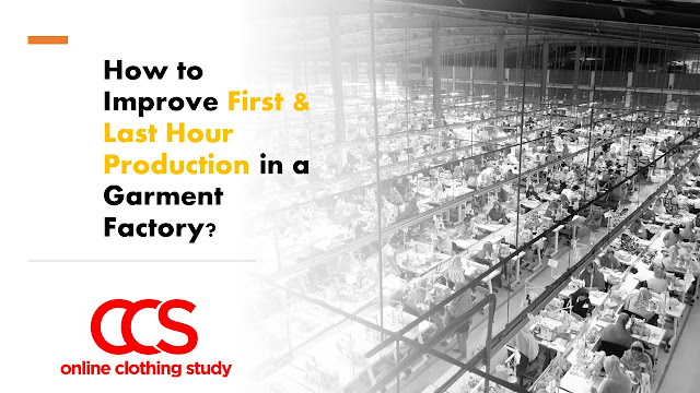improving hourly production in a garment factory