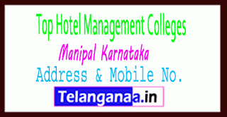Top Hotel Management Colleges in Manipal Karnataka