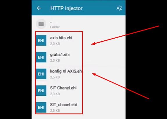 Config HTTP Injector Axis HItz Terbaru 2019 4