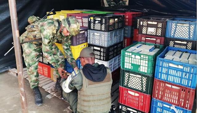 FRONTERA: 5 mil kilos de queso incautados en el Departamento de Arauca proveniente de Apure-Venezuela.