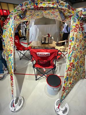 チャムスの2ルームテント