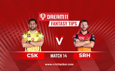 CSK vs SRH Dream11 Team Hints