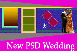 Free New 2020 Wedding PSD Templates Free Download 12x36