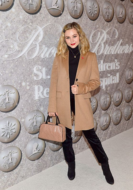 Brec Bassinger Clicks At  Brooks Brothers Host Annual Holiday Celebration in West Hollywood 7 Dec-2019