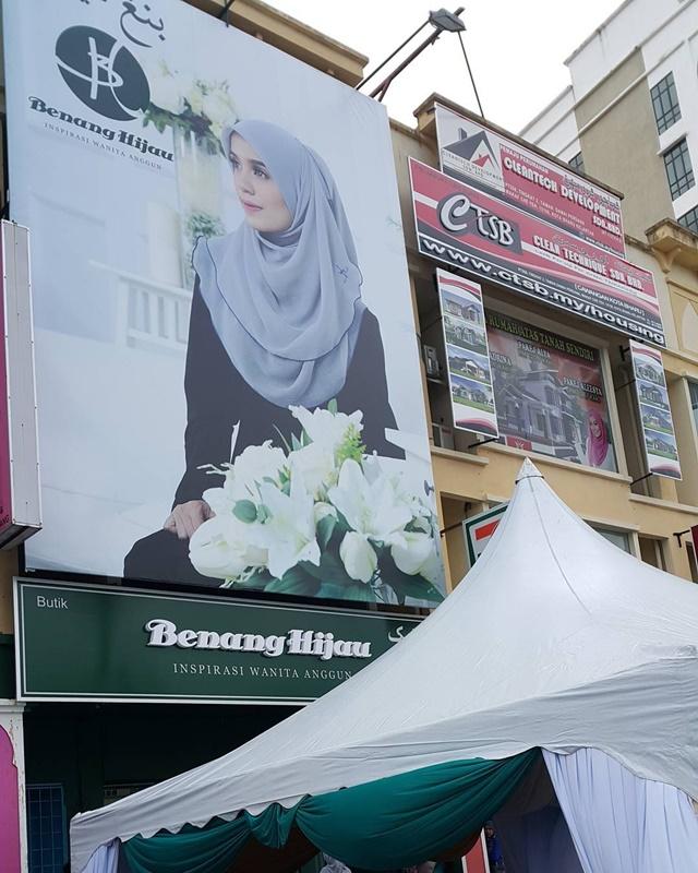 Grand Opening Butik Benang Hijau Wakaf Che Yeh, Kelantan