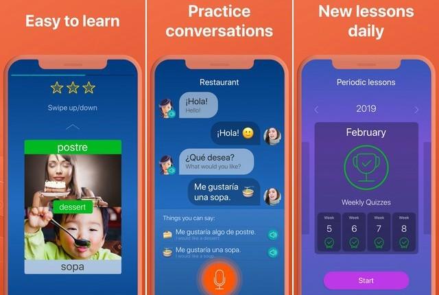 أفضل تطبيق لتعلم اللغة الإسبانية للايفون