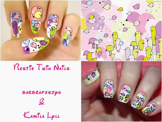 Twin nails with Świat Lyll