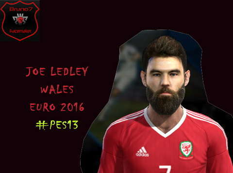 PES 2013 Joe Ledley New Face 2016