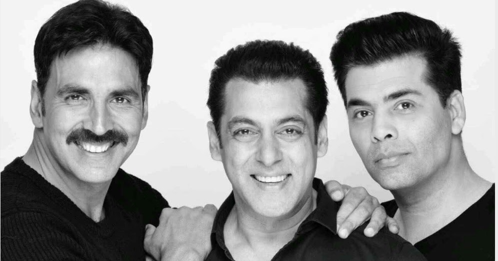 here is how the terrific trio of salman khan  akshay kumar