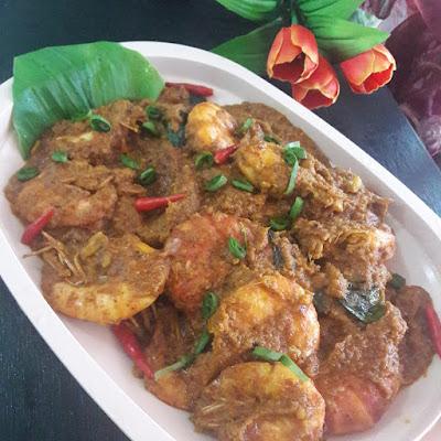 Resepi Rendang Udang Enak Di Makan Bersama Lemang