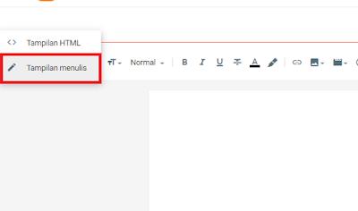 cara membuat halaman di blog