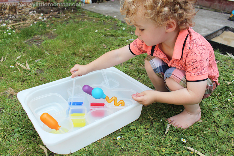Water activity for toddlers