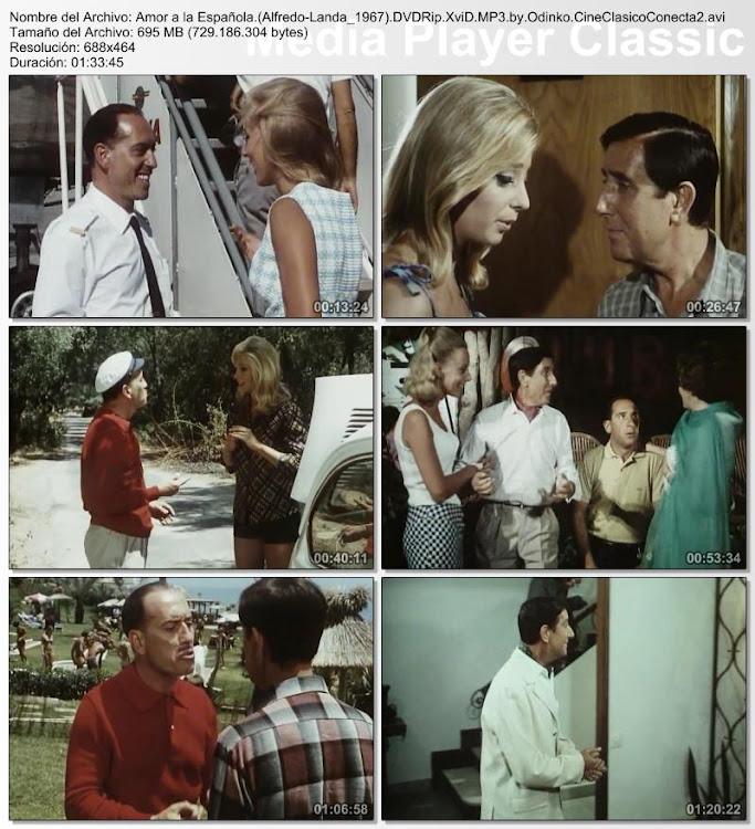 Amor a la española| 1967 | Con Alfredo Landa