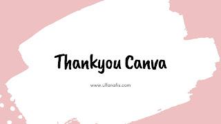thankyou canva