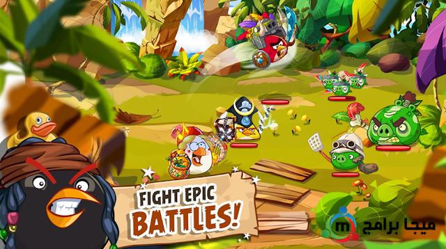 لعبة angry birds epic