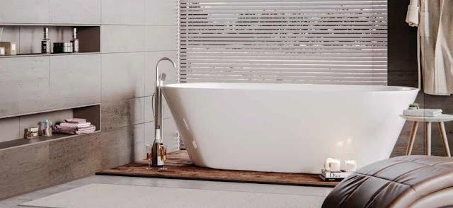Łazienka w stylu skandynawskim od Jaquar