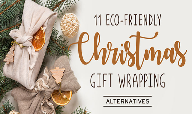 11 Eco-Friendly Christmas Gift Wrapping Alternatives
