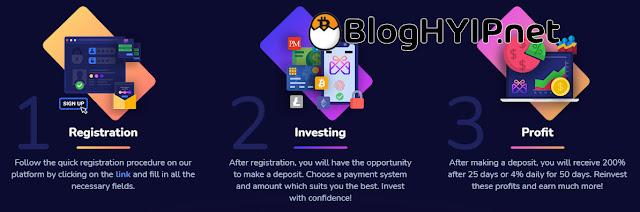 Quy trình đầu tư 1 site HYIP