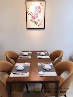 Căn hộ full nội thất tòa Orchid 2 HaDo Centrosa cho thuê - bàn ăn cao cấp