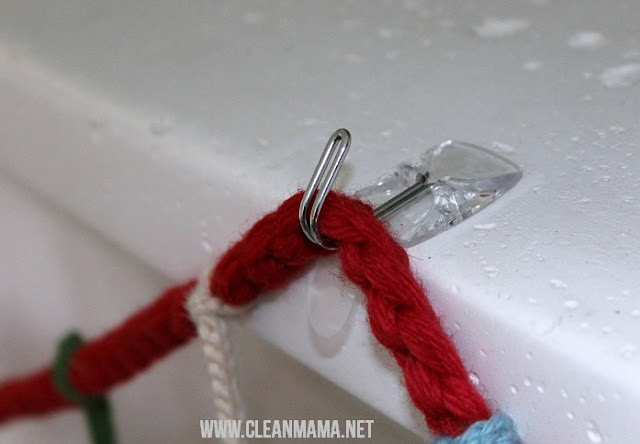 12 Ways to Organize with Command Hooks - organize holiday decor :: OrganizingMadeFun.com