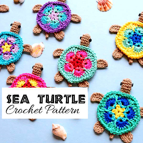 Sea Turtle Applique - Free Pattern