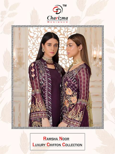 Charizma Ramsha Noor luxury Pakistani Suits Collection