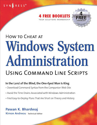 How To Cheat At Windows System Administration Using Command Line Scripts (2006) in PDF Download eBook