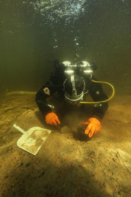 Archaeologists find traces of submerged Stone Age settlement in Southeast Finland