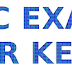 LDC EXAM ANSWER KEY IDUKKI 29-07-2017