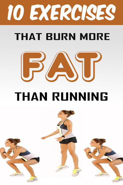 Here Are 10 Exercises That Burn More Fat Than Running