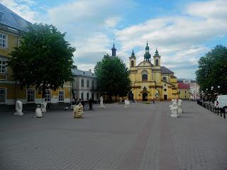 Ивано-Франковск. Майдан Шептицкого