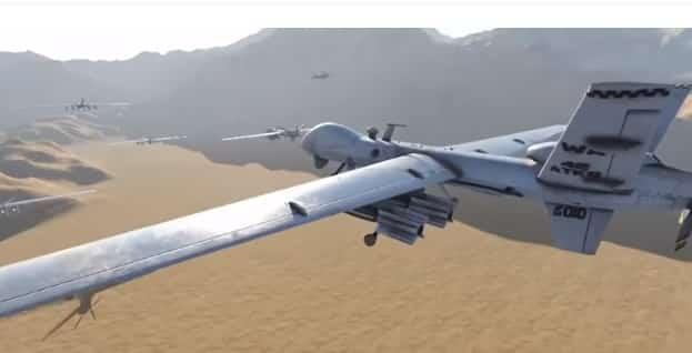 طائرة بدون طيار - الحوثي
