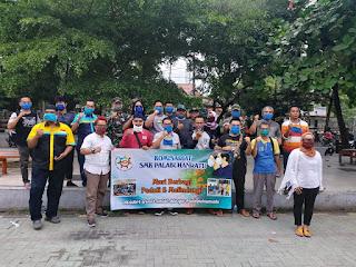 MKKS Bagikan Ribuan Masker Gratis Kepada Warga