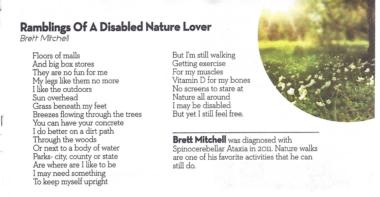 Ataxia Profile: Brett Mitchell