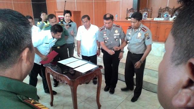 """""""Rakor Kamtibmas Kabupaten Minahasa"""", Kapolres Kusmayadi: Perlu ada kesepahaman membuat aturan miras"""