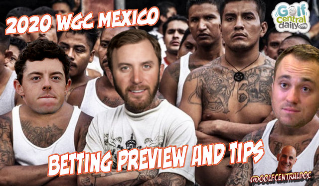 2020 WGC Mexico Draft Kings Picks