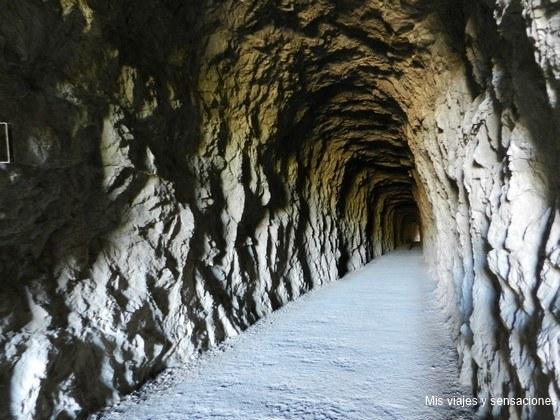 Túneles en las foces de Lumbier, Navarra