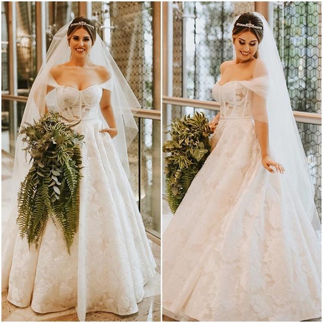 vestido de noiva Fabi Santina